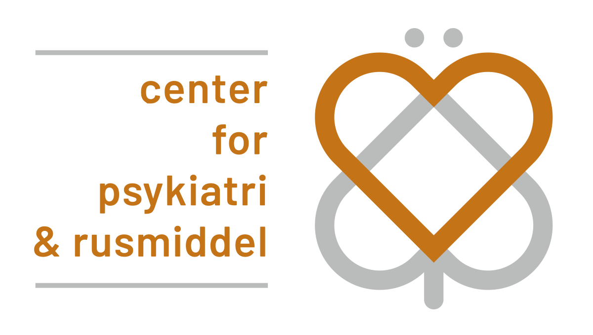 Center for psykiatri og rusmiddel logo - forside